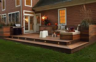 patio deck ideas deck lighting ideas that bring out the of the space