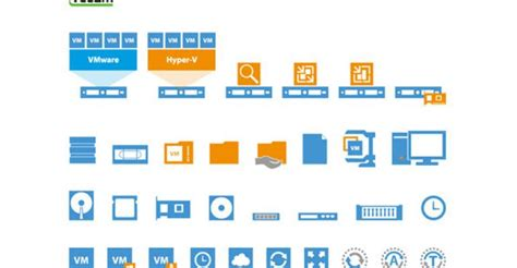vmware visio stencils free visio stencils for vmware and hyper v from