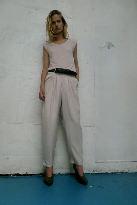 Look Book Balenciaga Summer 2007 Womens Ready To Wear by S S 13 Rodebjer Catwalk Inspiration