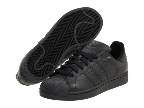 mens all black sneakers adidas superstar 2 ii originals s casual basketball