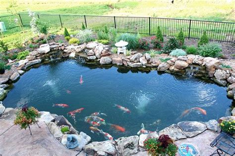 Koi Pond In Backyard by Discover And Save Creative Ideas