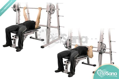 using smith machine for bench press smith machine bench press