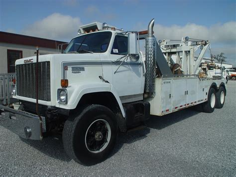 gmc sales tow recovery trucks for sale
