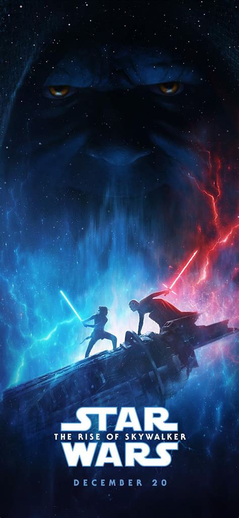 star wars  rise  skywalker iphone wallpaper