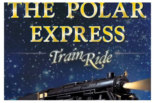 coupon for polar express train ride