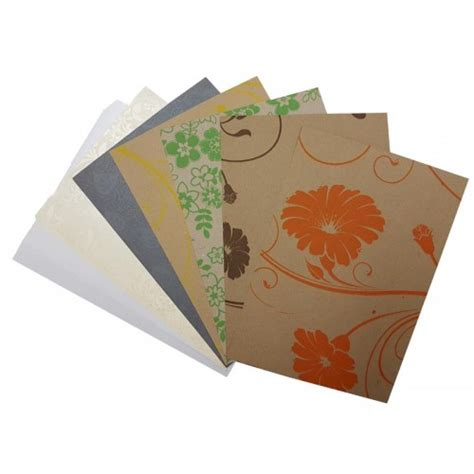 chic collection paper card pack 20 sheets