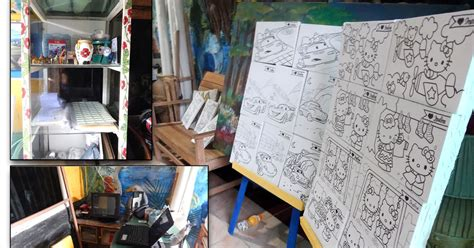 Kuas Lukis Cat Air Poster Minyak No 8 Medium Jual Eceran Pcs belajar menggambar jual peralatan lukis
