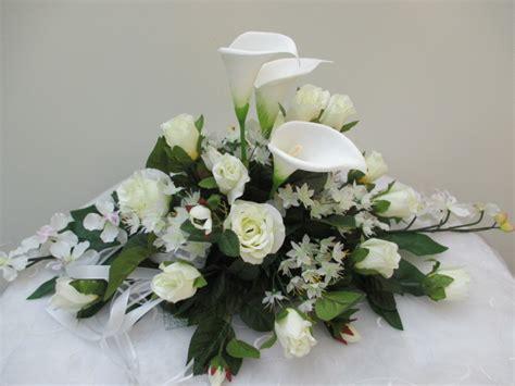 floral arrangements für esszimmer tische tischdeko hochzeit calla modern suche tischdeko