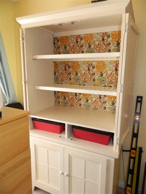 repurpose armoire repurpose an old tv armoire into a wardrobe my projects