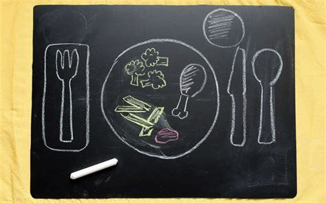 diy chalkboard placemats easy diy chalkboard placemats 183 kix cereal