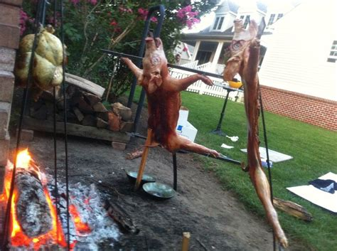 how to roast a pig in your backyard 1000 images about mi casa on pinterest paella themed