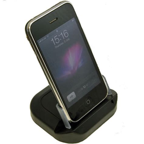apple iphone gs  usb desktop sync charge cradle