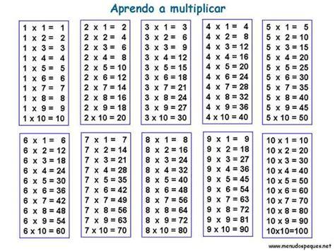 tablas de multiplicar del 1 al 10 para imprimir tablas de multiplicar tablas de multiplicar del 1 al 10 para imprimir imagui