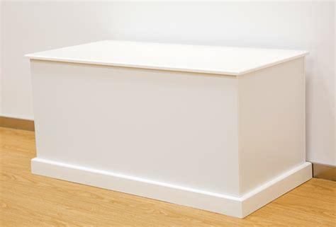 white ottoman storage box plan railing stairs and