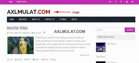 header design html code how to add logo in blogger blog header axlmulat com