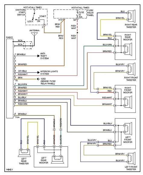 vw beetle wiring diagram wiring diagram and schematic