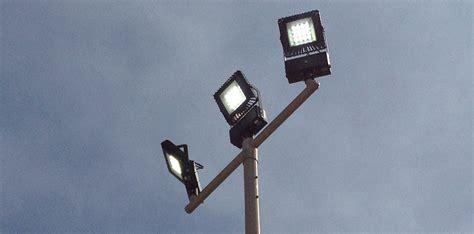 pole mounted led lights led pole mount supply construction lights nemalux