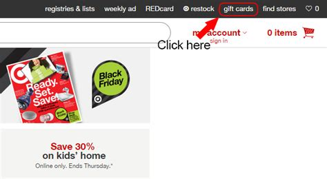 Check Gift Card Balance Target - target gift card balance login at www target com today s assistant