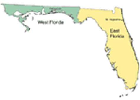 florida time zone map florida state maps 2000 to present