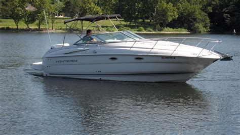 monterey boats specs 2003 monterey 245 cruiser power boat for sale www