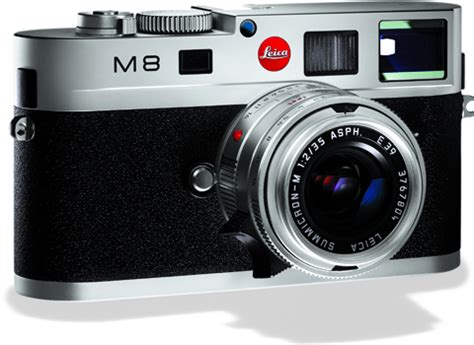 leica: photographers 'more than happy' with m8 camera