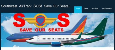 southwest airlines assigned seats airtran passengers press southwest for assigned seats and