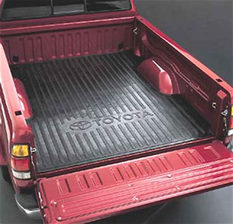 Toyota Tundra Bed Mat by 2000 2006 Toyota Tundra Bed Mat Black Rubber Made By Toyota