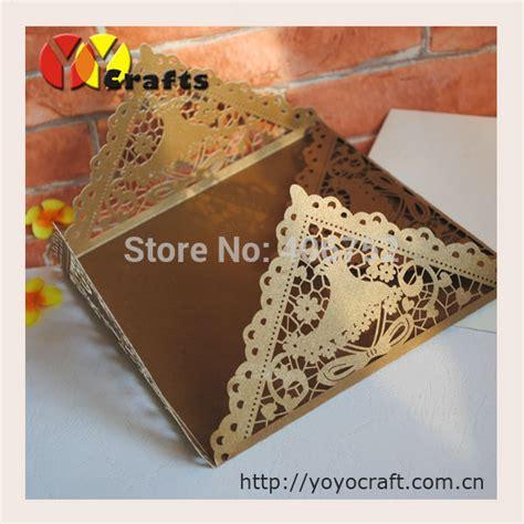 how to make wedding invitation sle aliexpress buy arabic wedding invitation card