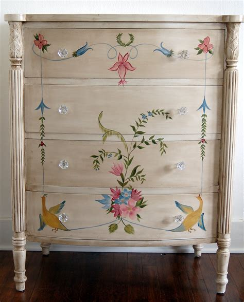 furniture painting ideas painted wood furniture for beauty appearance trellischicago