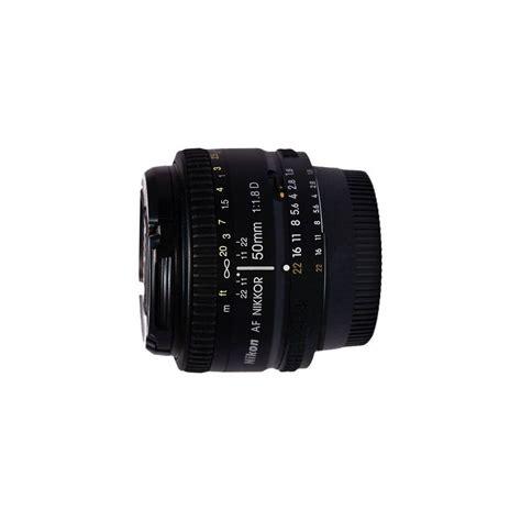 Nikon Lensa 50mm F 1 8 D nikon 50mm f 1 8d autofocus lens