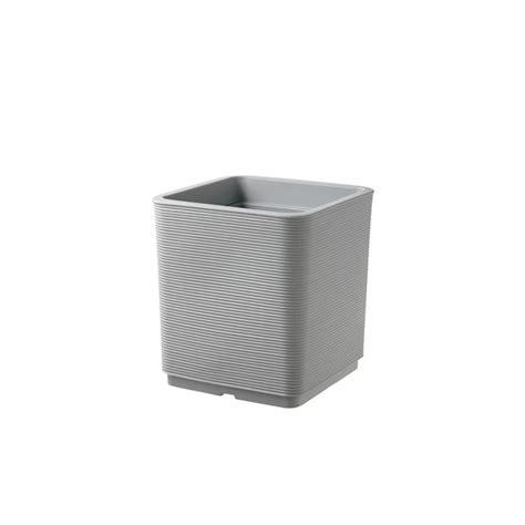 vaso per esterno vaso quadrato per esterno e giardino in resina