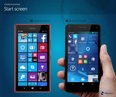 best windows mobile phones in pictures comparing windows phone 8 1 and windows 10