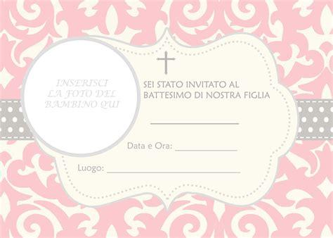 cornici per bigliettini biglietti e inviti battesimo originali gratis da stare