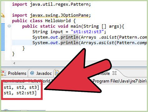 wikihow cadenas how to split strings in java 3 steps with pictures