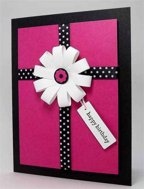 How To Make A Birthday Card Handmade - 17 best ideas about handmade cards on card