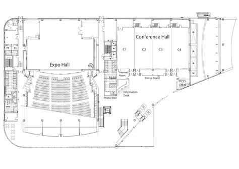 multi purpose hall floor plan 2nd climate change symposium venue pices
