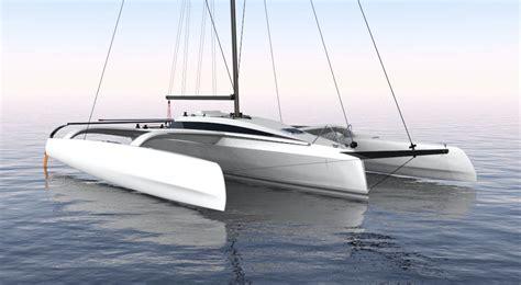 trimaran hull tr42 performance trimaran grainger designs multihull yachts