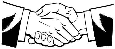 coloring page shaking hands hands raise hand clipart kid clipartix