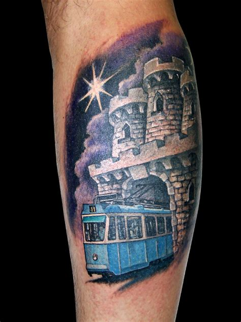 tattoo studio zagreb gandalf tattoo zagreb coat of arms and tram 413