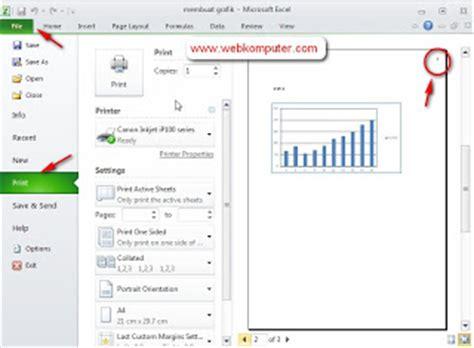 membuat nomor halaman pada ms excel cara membuat nomor halaman di microsoft excel 2010