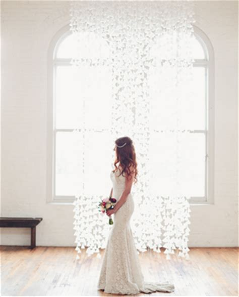 wedding backdrop wax paper simple wedding decor 18 diy wedding backdrops