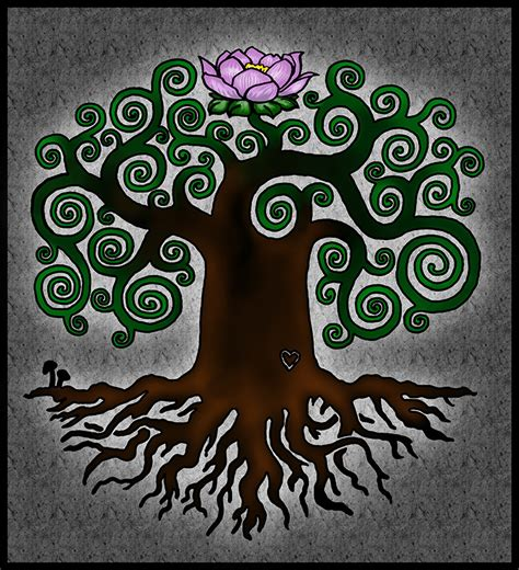 tattoo design about life tattoo design tree of life by 31337157 on deviantart