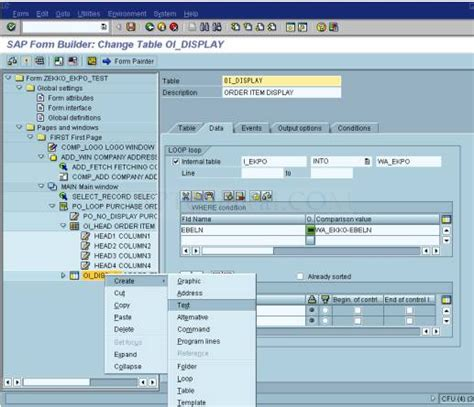 smartforms tutorial sap technical step by step approach in creating a po layout using smart