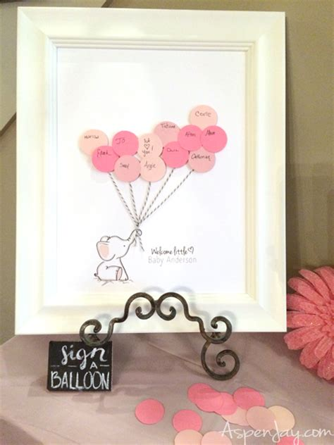 Baby Shower Guestbook by Elephant Baby Shower Guest Book Printable Aspen