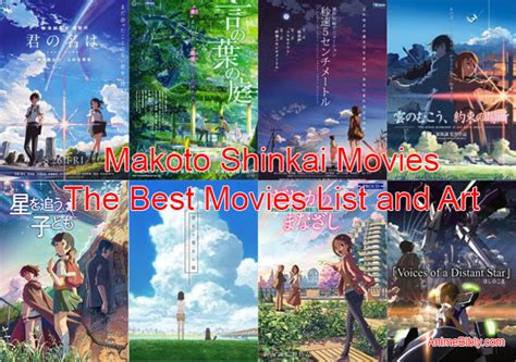 film anime karya makoto shinkai makoto shinkai movies the best movies list and art