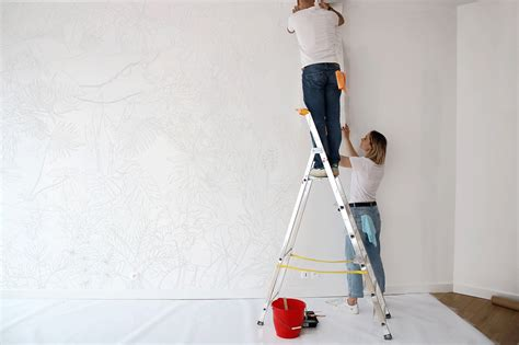 Comment Poser Tapisserie by Diy Comment Poser Un Papier Peint Panoramique Fresque