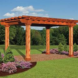 Wood Pergola by Artisan Wood Pergolas Country Lane Gazebos