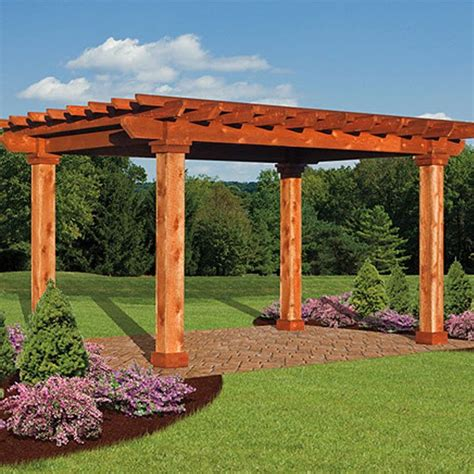 pergola styles artisan wood pergolas country lane gazebos