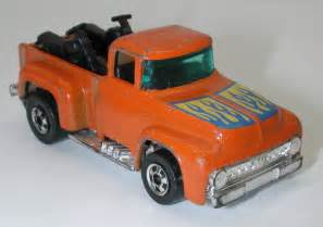 Wheels Truck With Motorcycles Wheels Ford Hi Hauler 1956 Orange Truck W