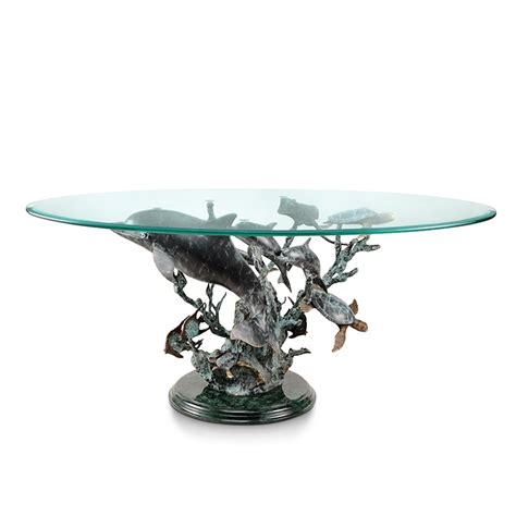 Dolphin Table by Dolphin Seaworld Coffee Table
